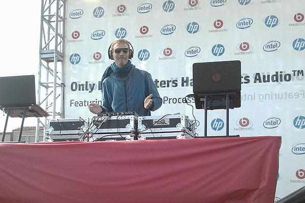 DJing in San Francisco